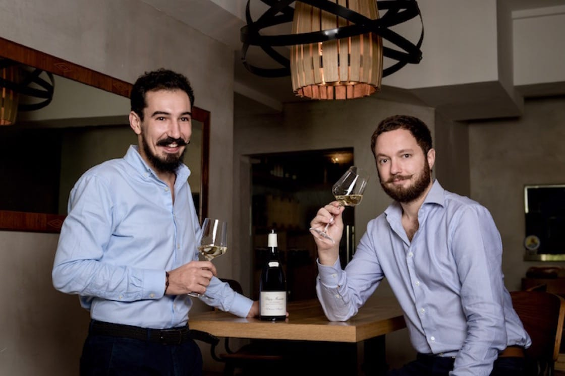 Owners of Ma Cuisine in Singapore: Anthony Charmetant and Mathieu Escoffier