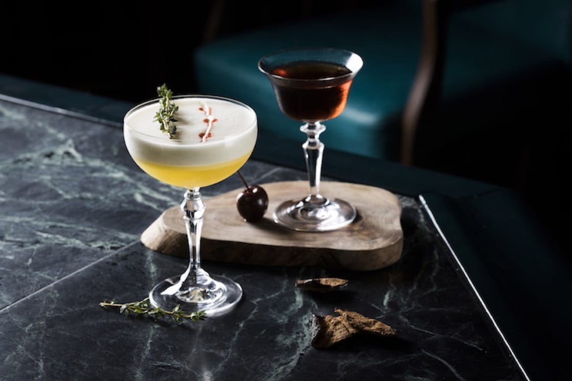 Traditional cocktails depend on herbs and citrus peels to boost the aroma of cocktails.