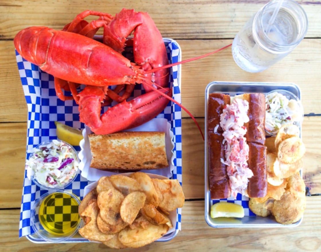 Photo courtesy of New England Lobster Company.