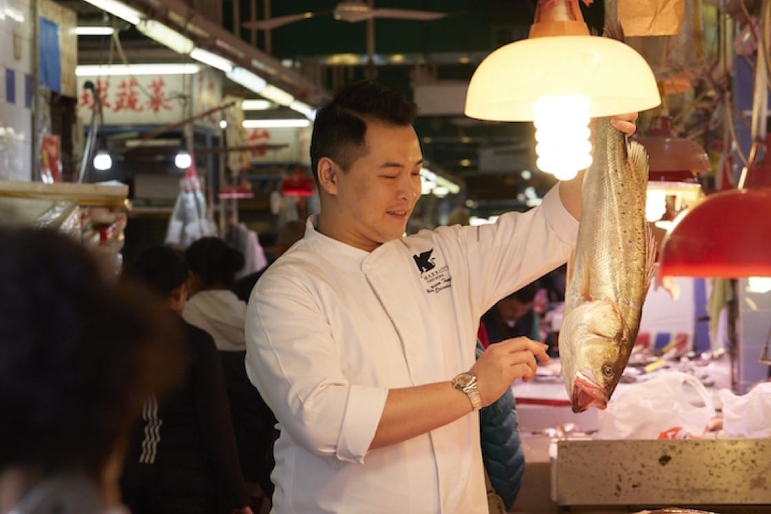 Jayson Tang is the Chinese executive chef of JW Marriott Hong Kong.