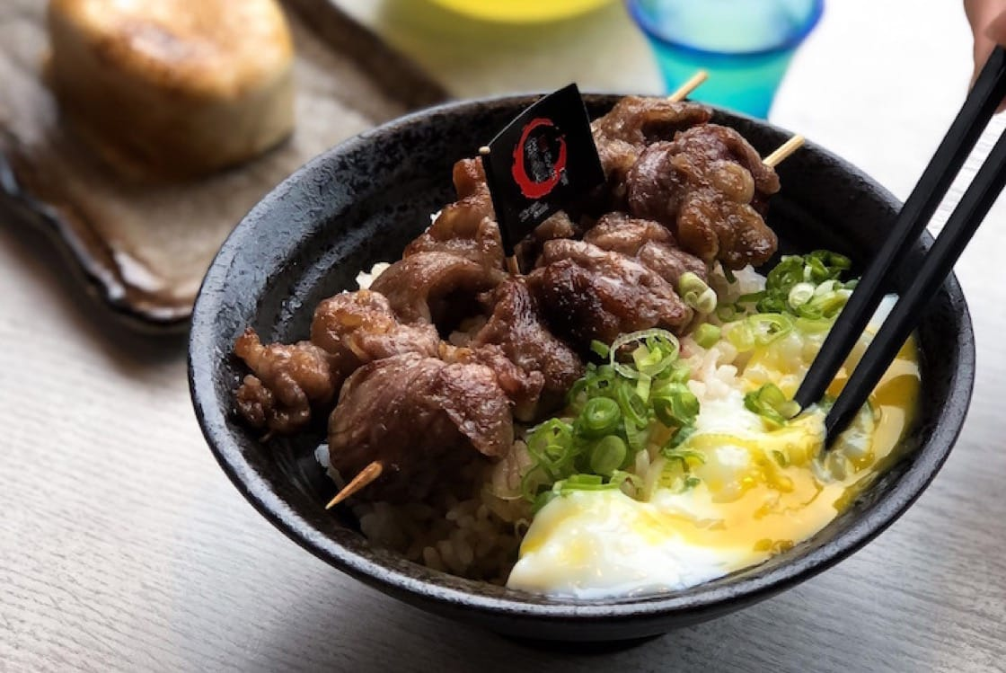 The Motobu gyu-don at Kinsa Sushi. (Pic: Yong Kai)