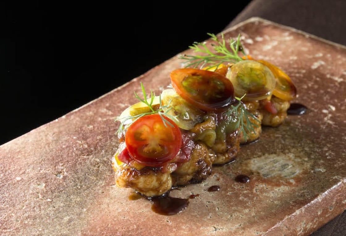 祥雲龍吟的冬季料理:鰻|番茄