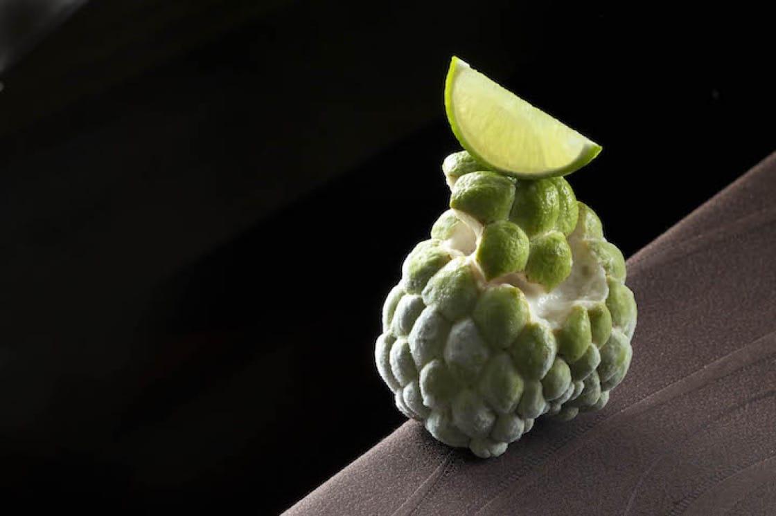 祥雲龍吟的冬季料理:釋迦|檸檬|梨