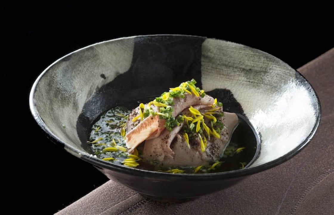 祥雲龍吟的冬季料理:牛舌|白蘿蔔|馬告