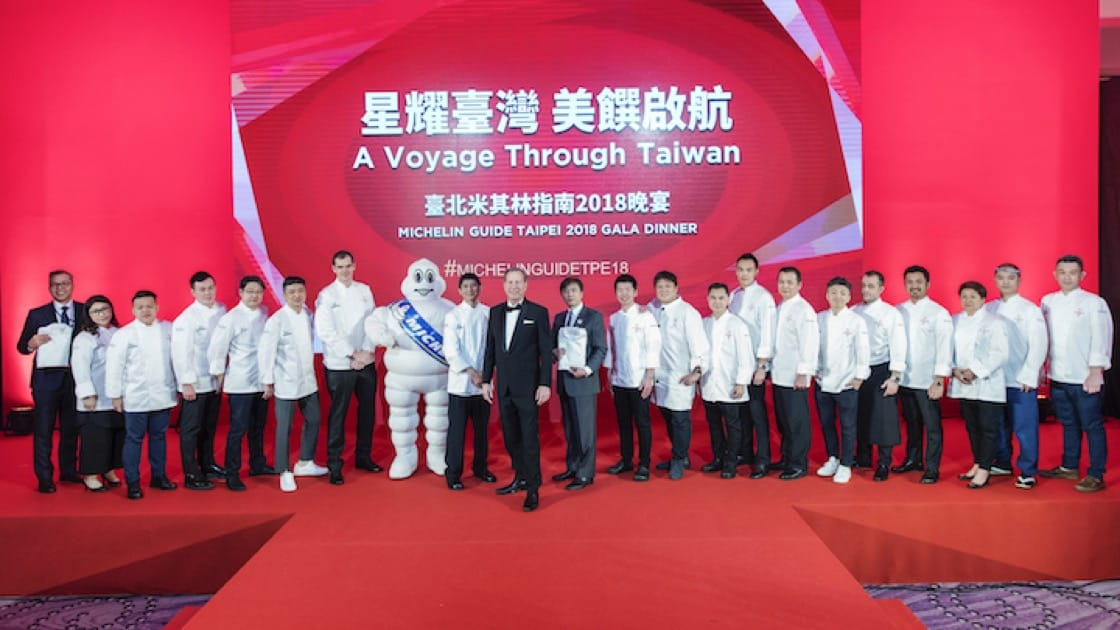 The freshly-minted crop of chefs and restauranteurs from Michelin-starred restaurants in Taipei.