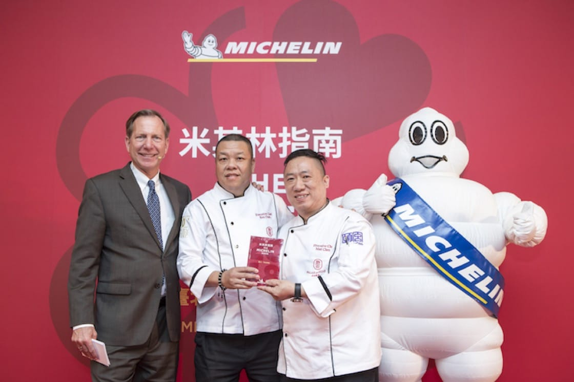 Chefs Ken and Matt Chen of Le Palais, the only three Michelin-starred restaurant in Taipei.