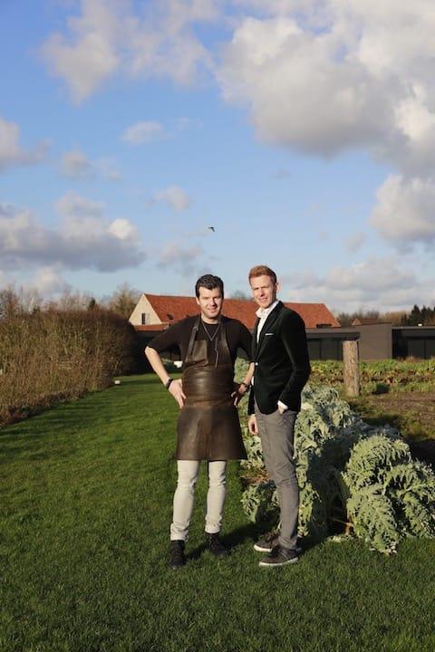 Hertog Jan_Gert De Mangeleer and sommelier Joachim Boudens .JPG