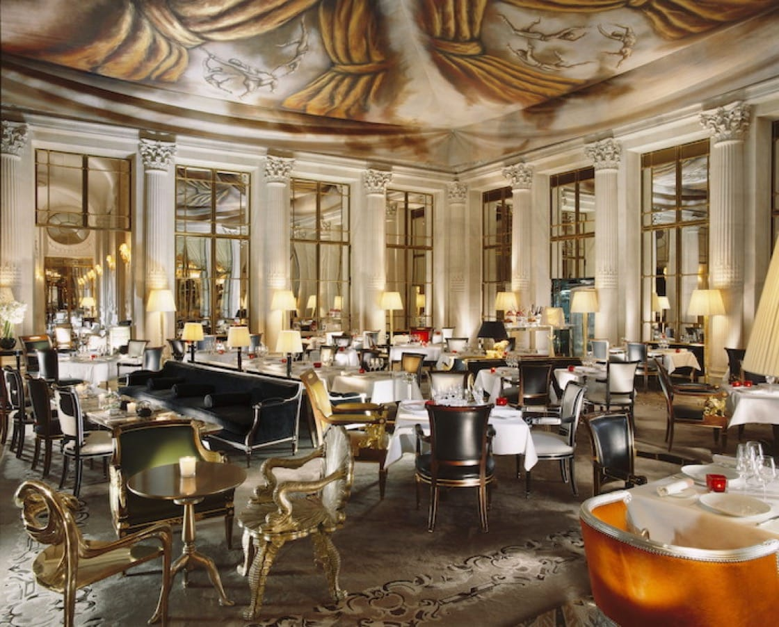 The stunning interiors of Restaurant Le Dalí at Le Meurice. (Photo by Le Dalí)