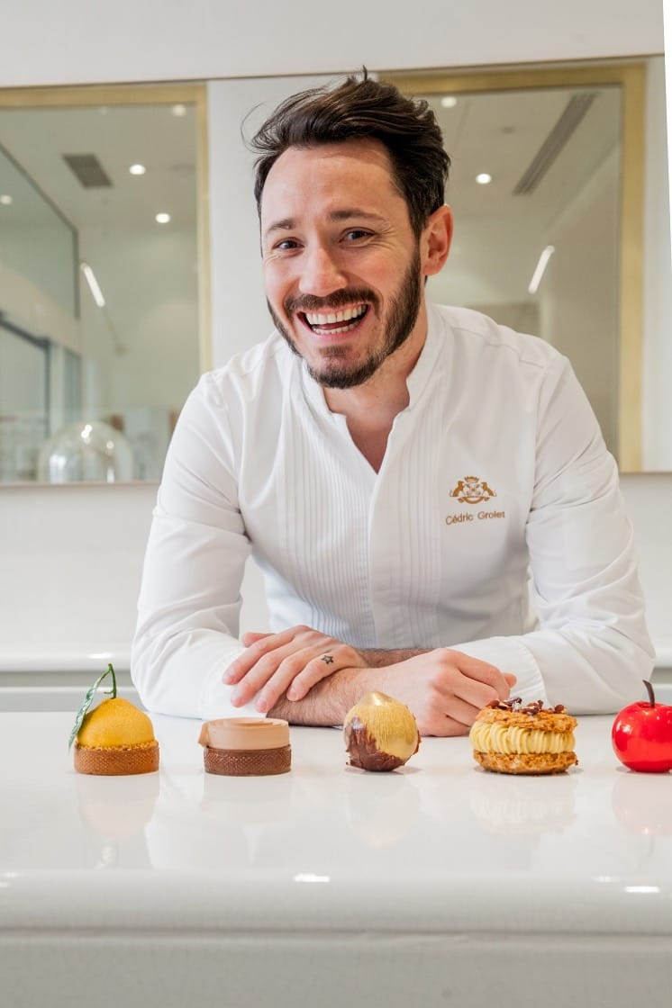 Pastry chef Cédric Grolet. (Photo by Le Meurice)