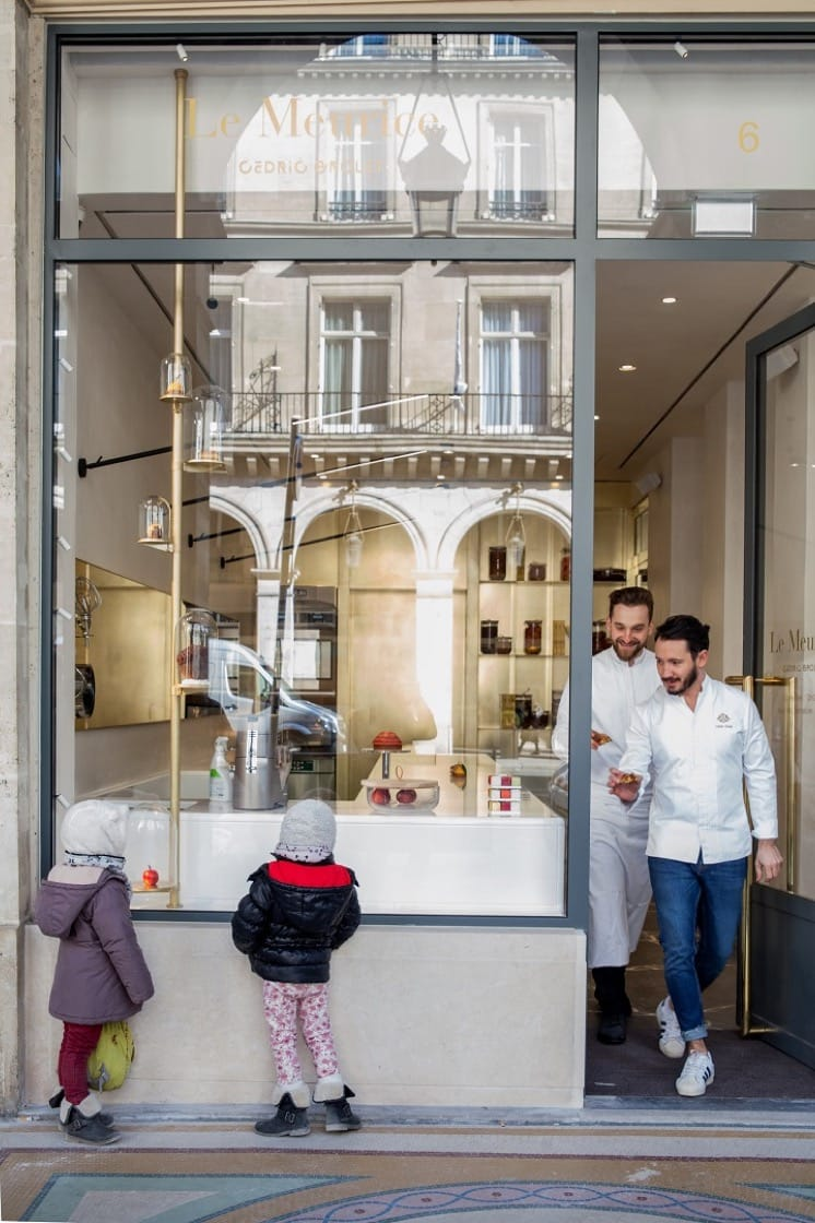 Grolet's patisserie in the 1st arrondissement in Paris opened on 20 March 2018.