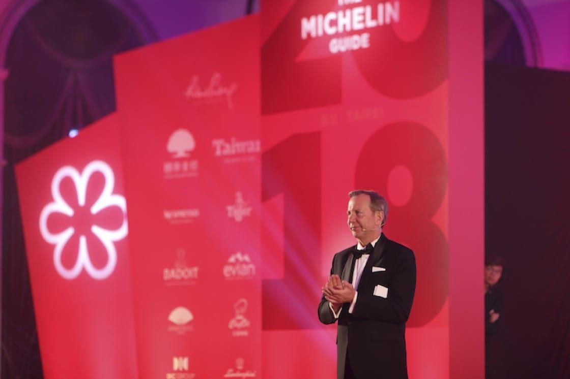 《米其林指南》國際總監米高·艾利斯(Michael ELLIS)當然是晚宴不可或缺的嘉賓之一。