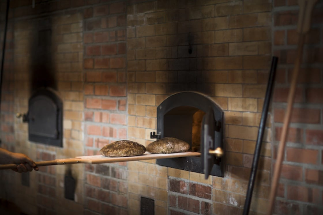 At Firebake, all the rustic loaves are baked in a traditional woodfire oven. (Credit: John Heng)