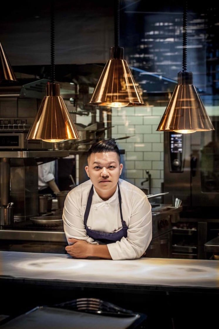 Chef Kai Ho from one-Michelin-starred Taïrroir