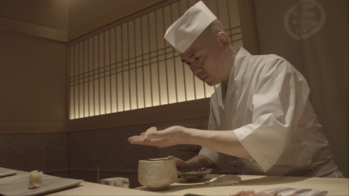 Three-Michelin-starred Sushi Saito in Tokyo is one of the restaurants that Perry would like to go if he could hop on a plane right now.
