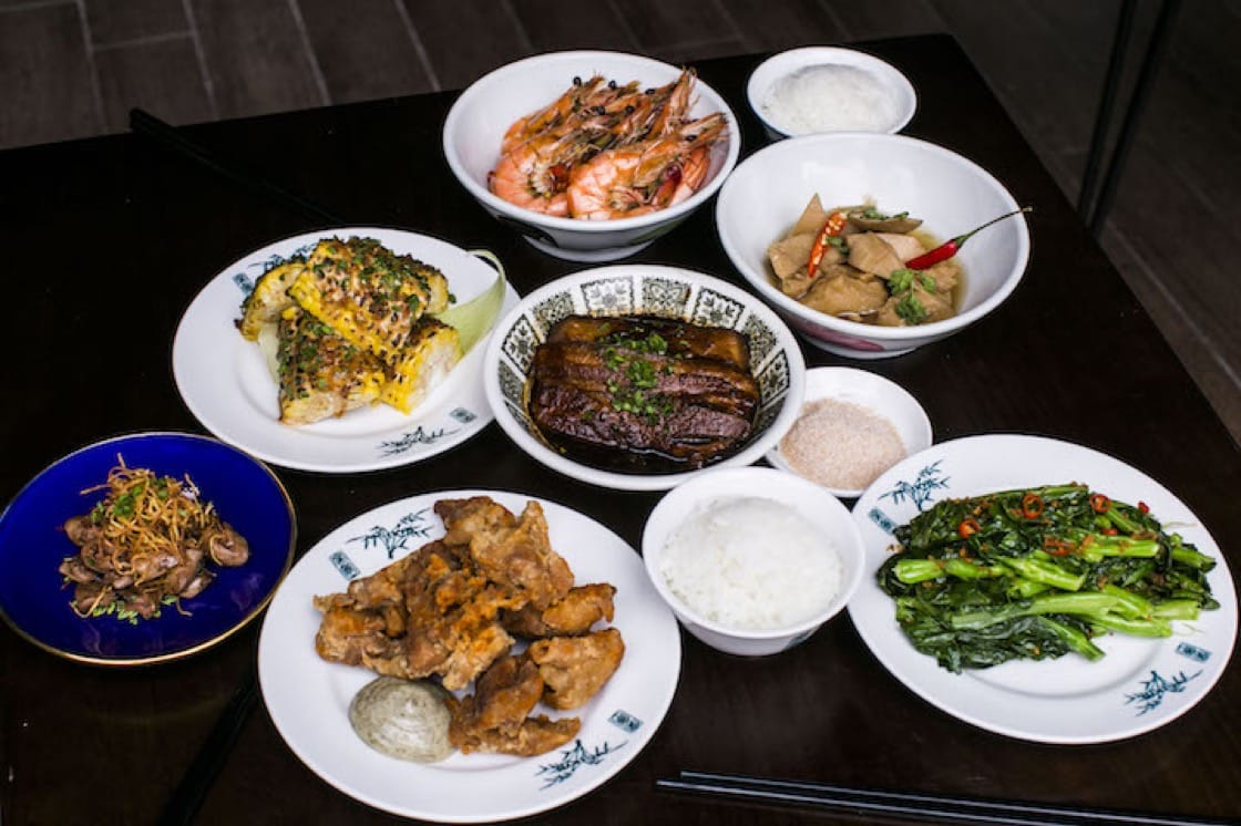The Taiwanese-inspired fare at The Salted Plum.