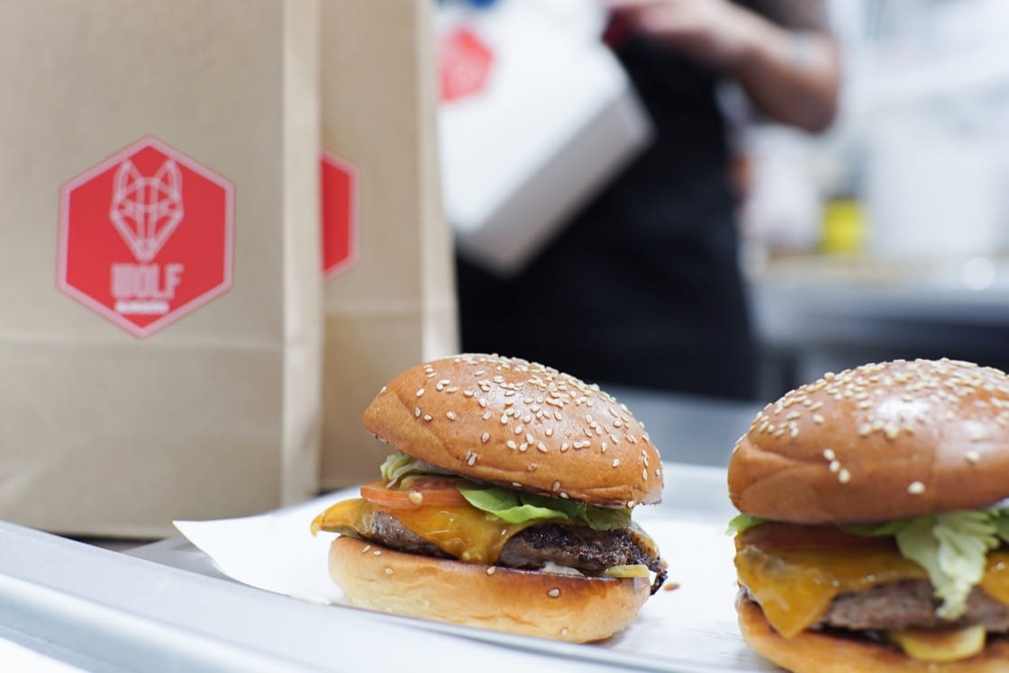 Wolf Burgers is one of the seven restaurants operating at Deliveroo Editions at CT Hub.