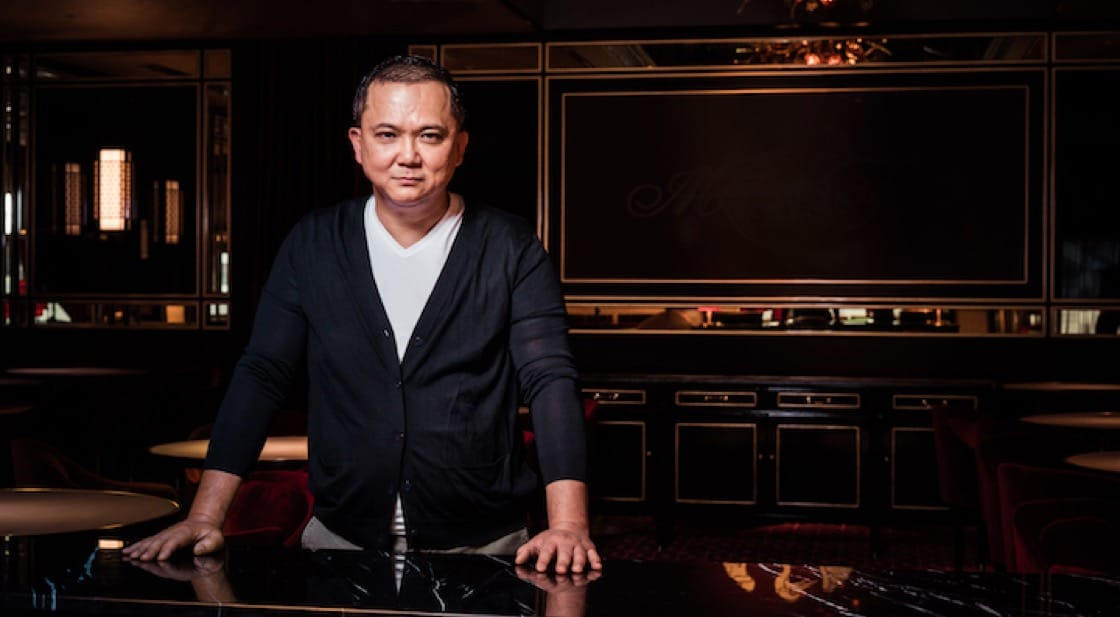 Alan Yau is on the forefront of revolutionising fine dining Chinese in the West (Pic: Madame Fan)
