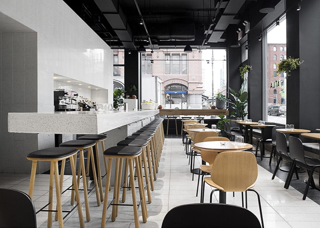 Located in the Flatiron District, Atla boasts a spectacular design. (Photo by Signe Birck/Atla.)
