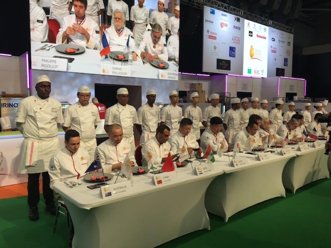 Judging in progress at the Asian Pastry Cup. (Credit: Kenneth Goh)
