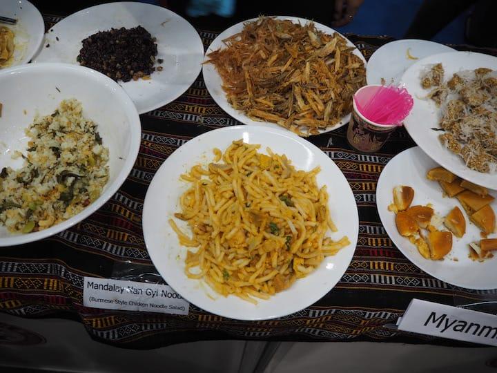 Myanmar dishes at FHA 2018. (Credit: Kenneth Goh)