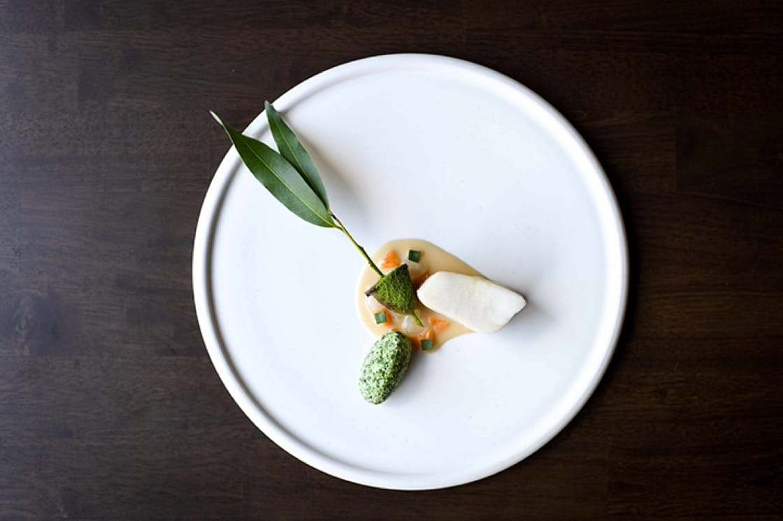 The sturgeon dish with roasted chicken, bay leaf and tarragon (pictured) will soon be replaced.