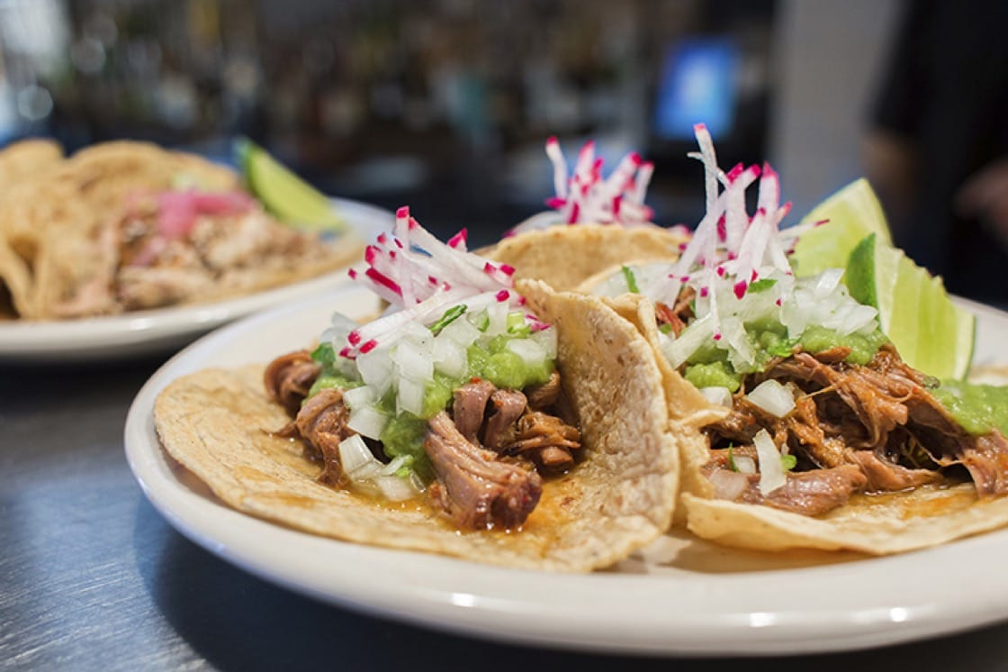 The cuisine of Mexico City is the inspiration for the menu at Oso. (Photo by KERM&ME/Oso.)