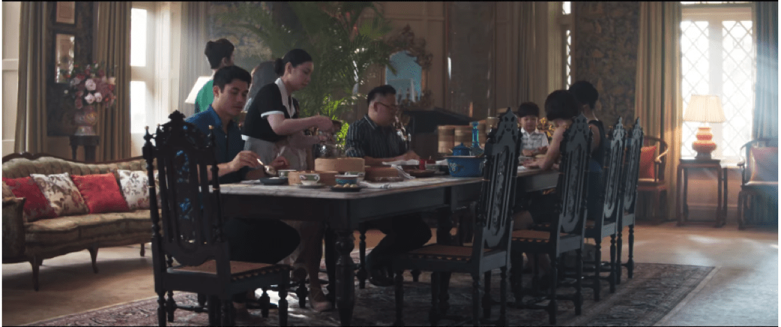 Dim Sum breakfast anyone? (Credit: Crazy Rich Asians YouTube)