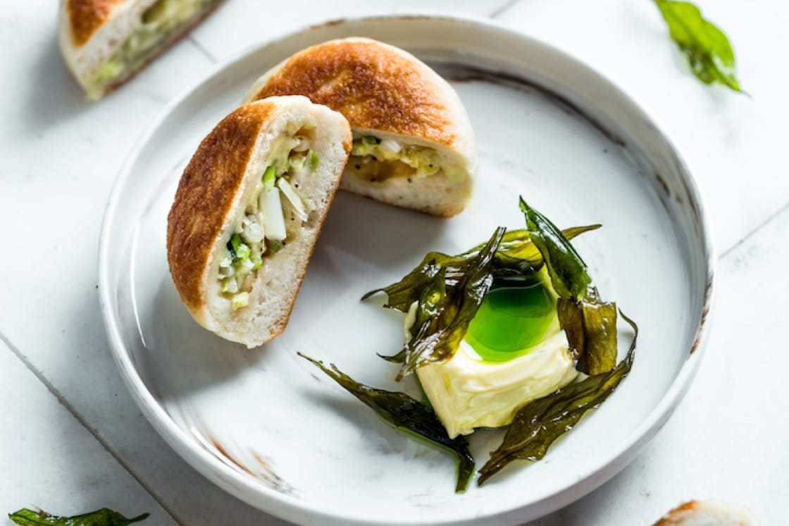 Spring onion shao bing at Restaurant Ibid (Credit: Restaurant Ibid)