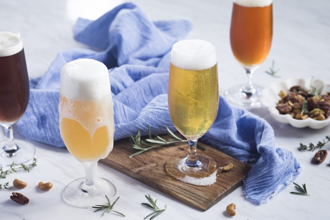 The Stamford Brasserie serves up a wide selection of craft beers.