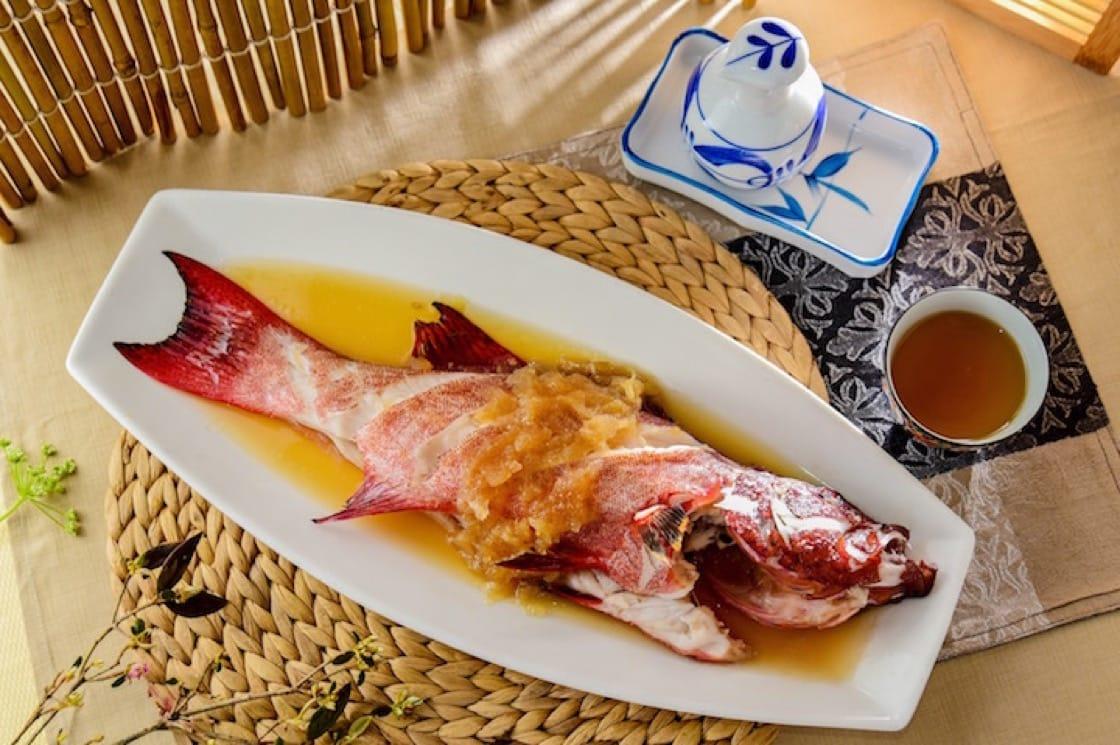 鹽冬瓜蒸時節鮮魚
