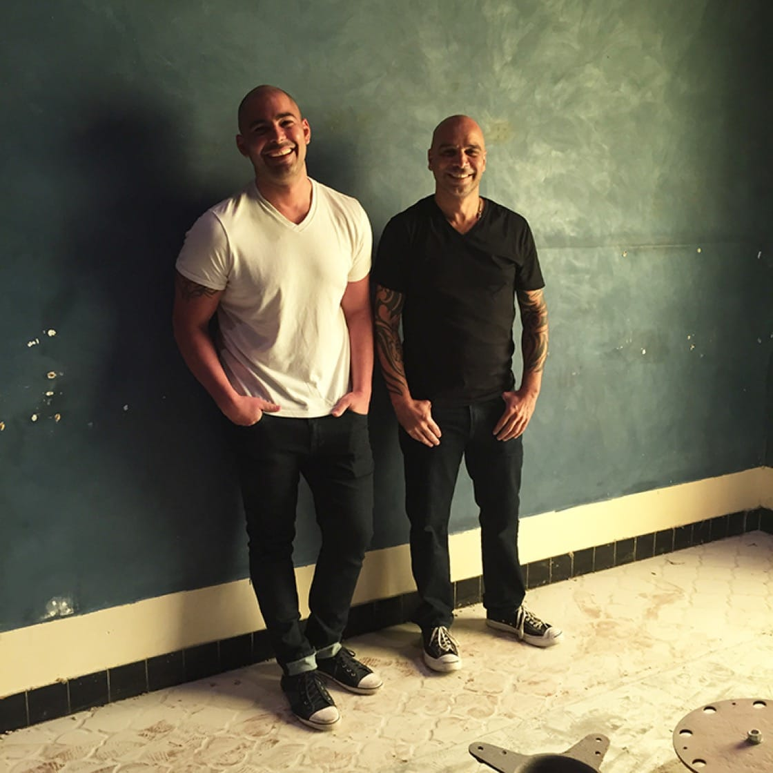 Louis Maldonado (left) and Mourad Lahlou will open Amara next month.