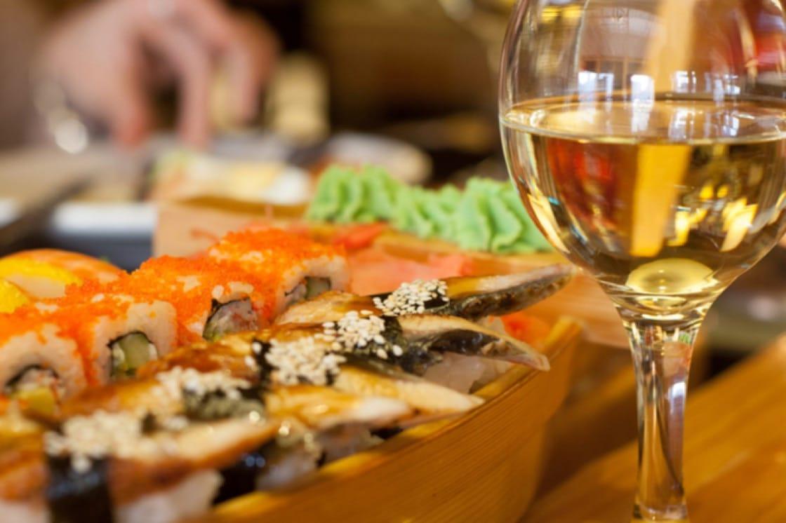 Fatty cuts of sashimi like toro go well with Chilean chardonnay.