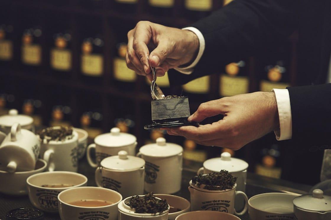 大吉嶺品茗是TWG茶學院品茗課程的重要部分。