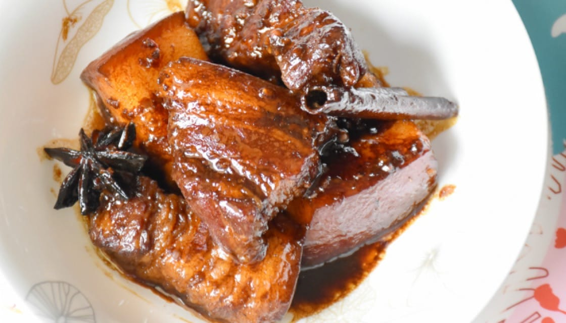 Moo Hong (Braised Pork Belly)