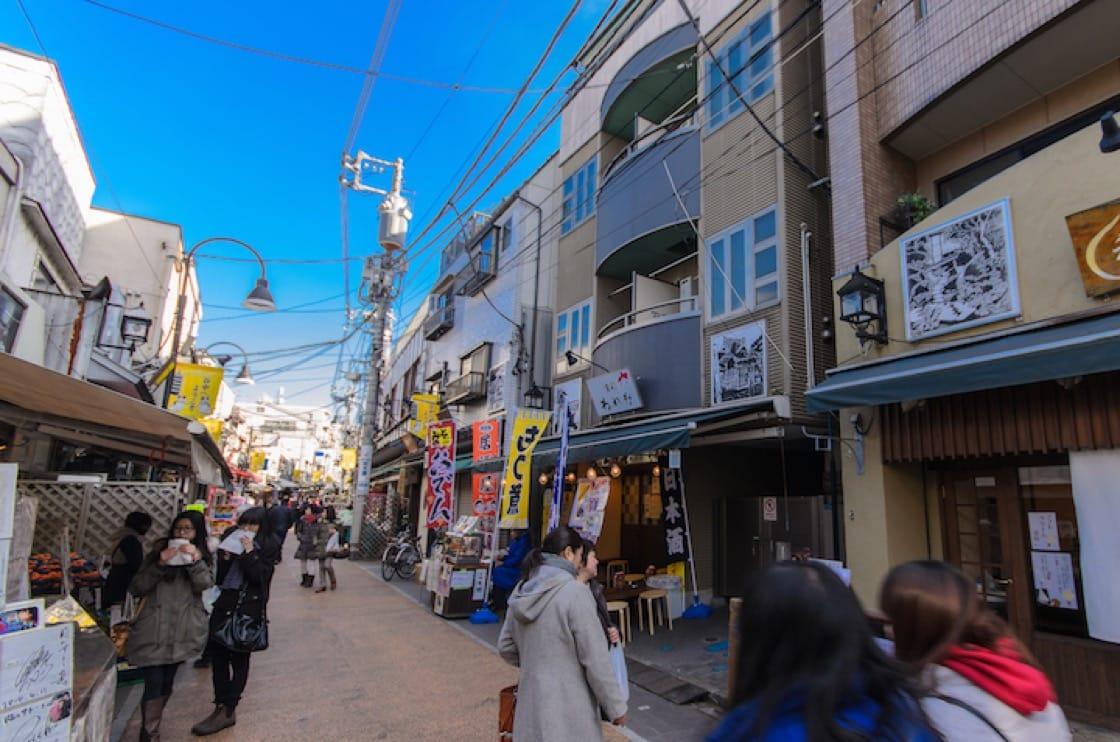 東京的谷中是近年被文青再發掘的老區。(資料圖片)