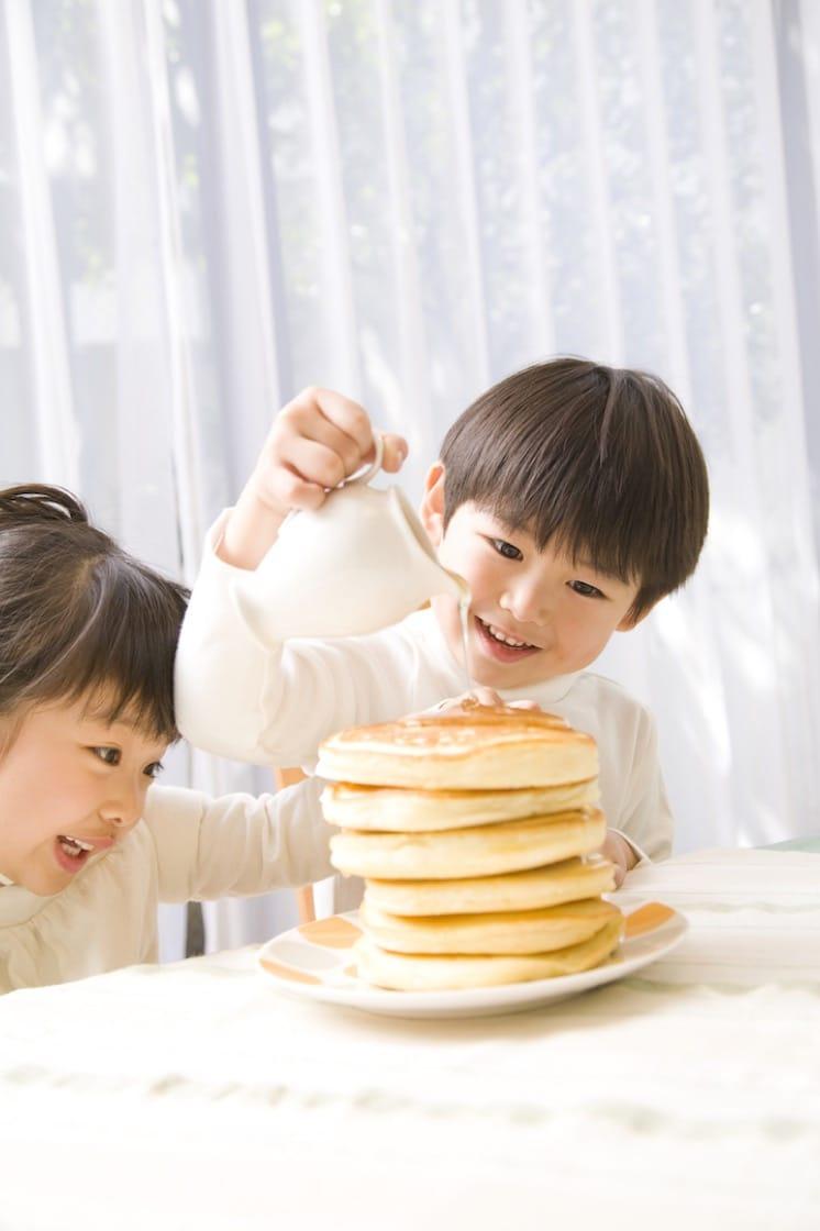 在日本,厚鬆餅是媽媽會做給小朋友吃的西式家常甜點。(資料圖片)
