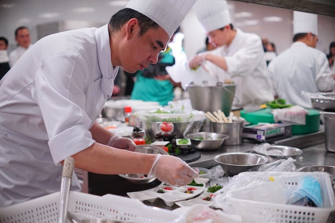 Outstanding chefs have high expectations of themselves, constantly seeking new inspiration.