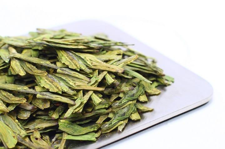 龍井茶葉含很高的維生素C,具有很高的保健和營養價值。(圖片:福茗堂提供)