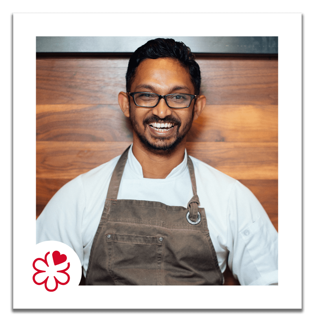 Rishi Naleendra, Cheek by Jowl <i class='fa-michelin fa-michelin-red'>m</i> Singapore, 2017