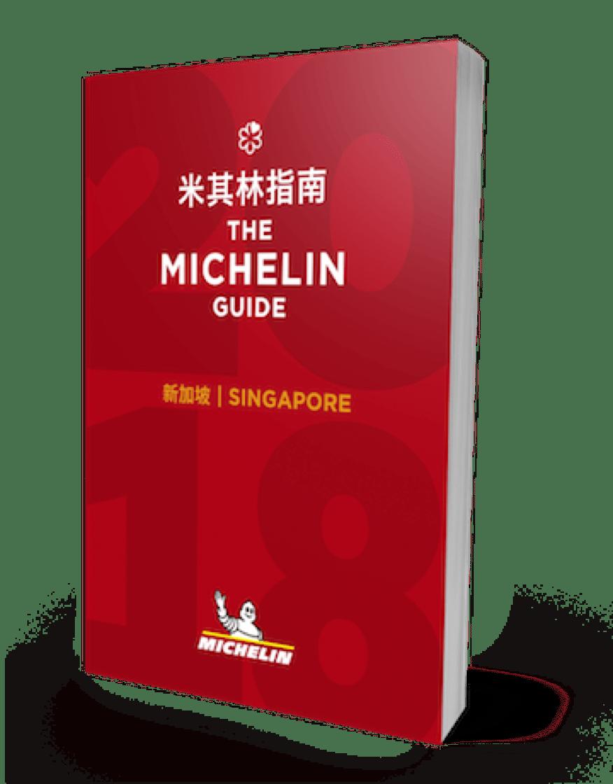 Risultati immagini per Guida Michelin Singapore 2018