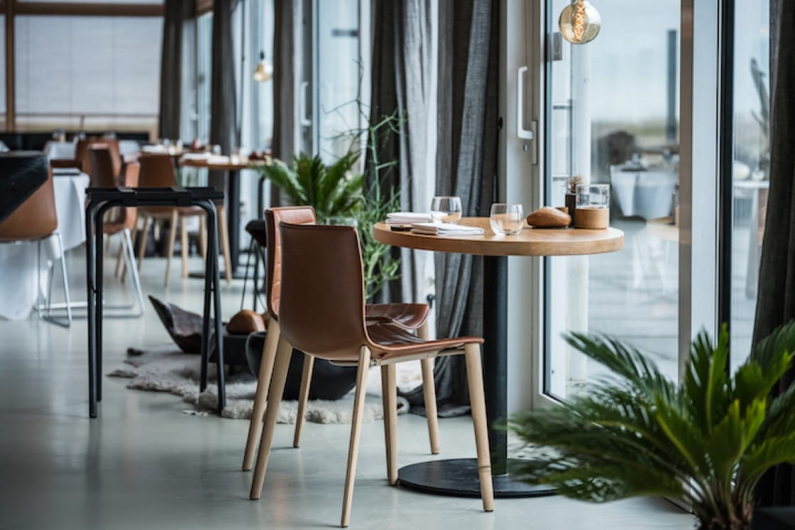 One Michelin-starred seafront restaurant Pure C. (Pic: Pieter D'Hoop)