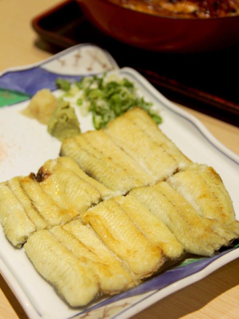 濱松屋的鰻魚白燒