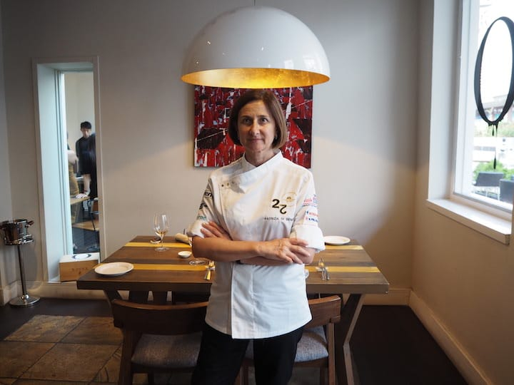 Chef Patrizia Di Benedetto is the only female chef from Sicily to receive a Michelin Star. (Credit: Kenneth Goh)