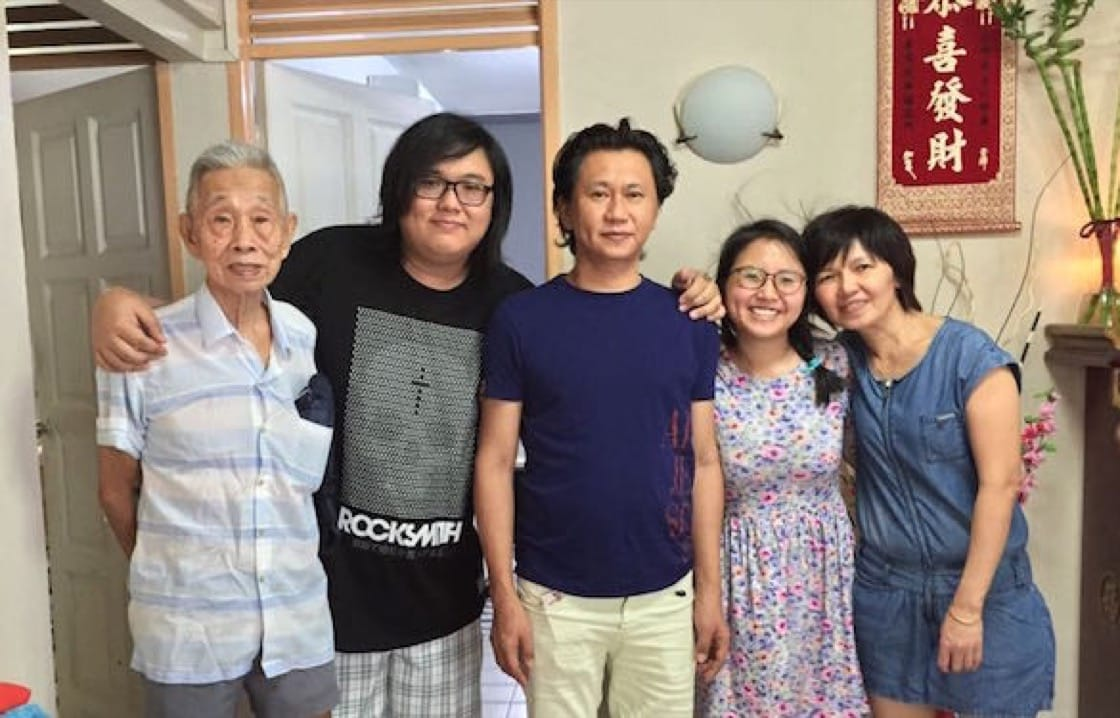 Three generations of the Tan family. (Pic: Anthea Tan)