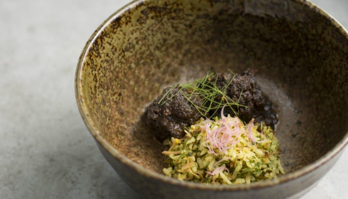 Nasi Ulam, Buah Keluak Rendang, Wing Bean Salad by Candlenut