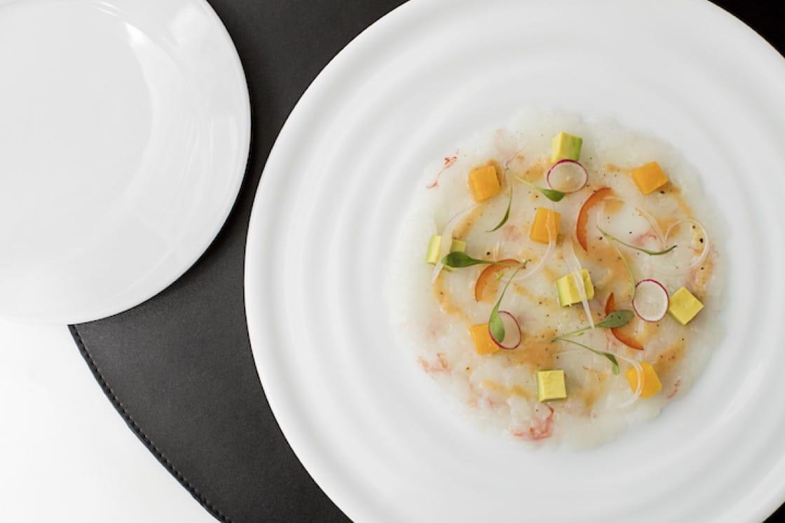Langoustine, ceviche dressing, mango, avocado (Pic: Beefbar Hong Kong)