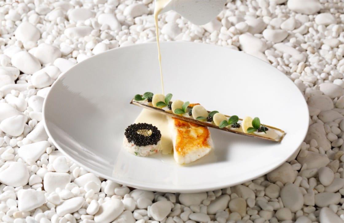 奧羅拉的野生多寶魚菜色