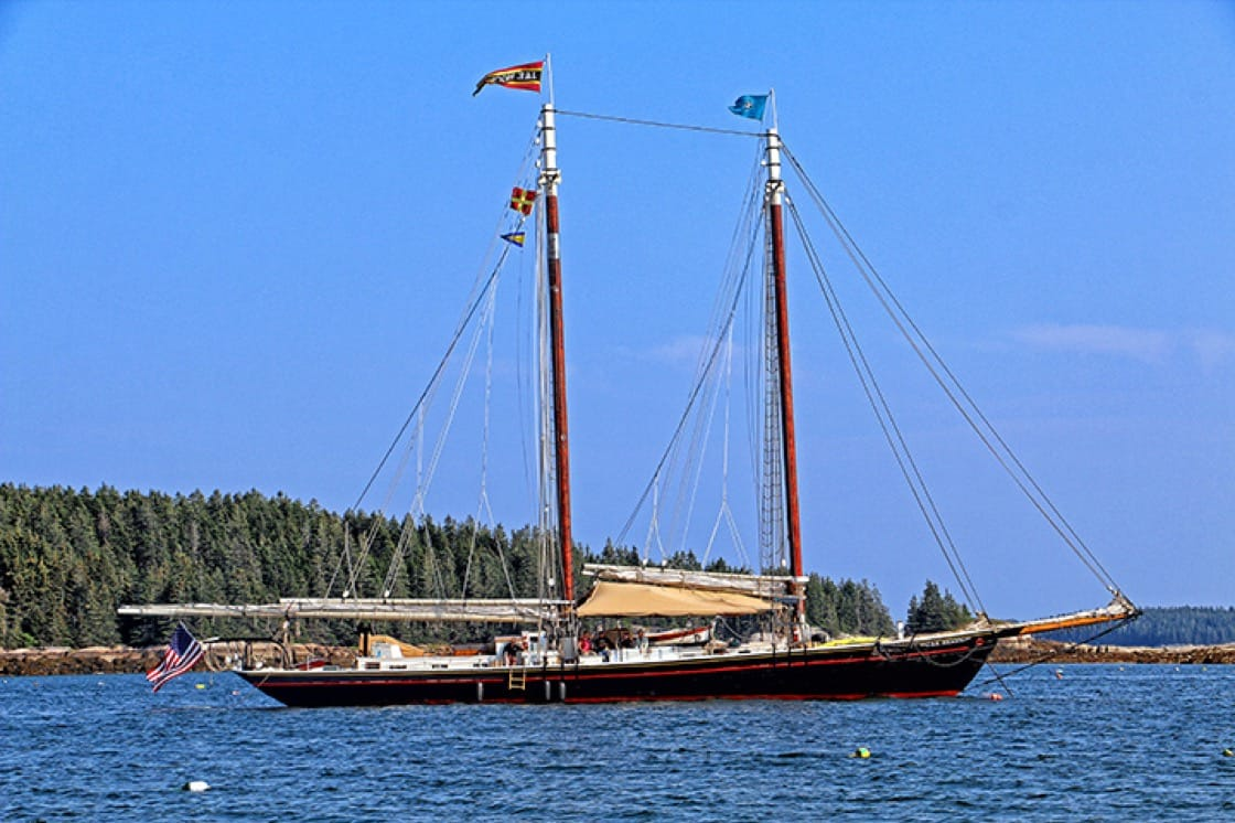 The homeport of Mahle and Finger's boat, the 'J&E Riggin,' is Rockland, Maine.