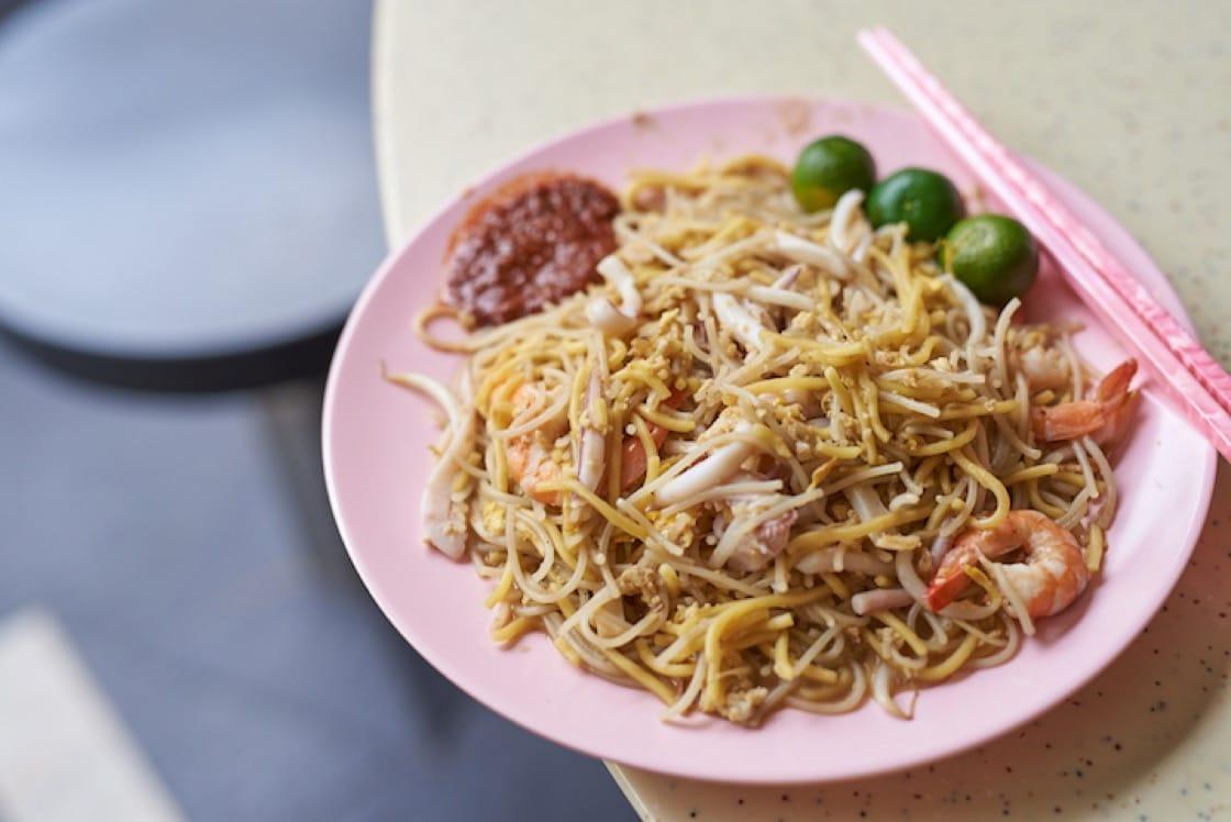 Hong Heng Fried Sotong Prawn Mee