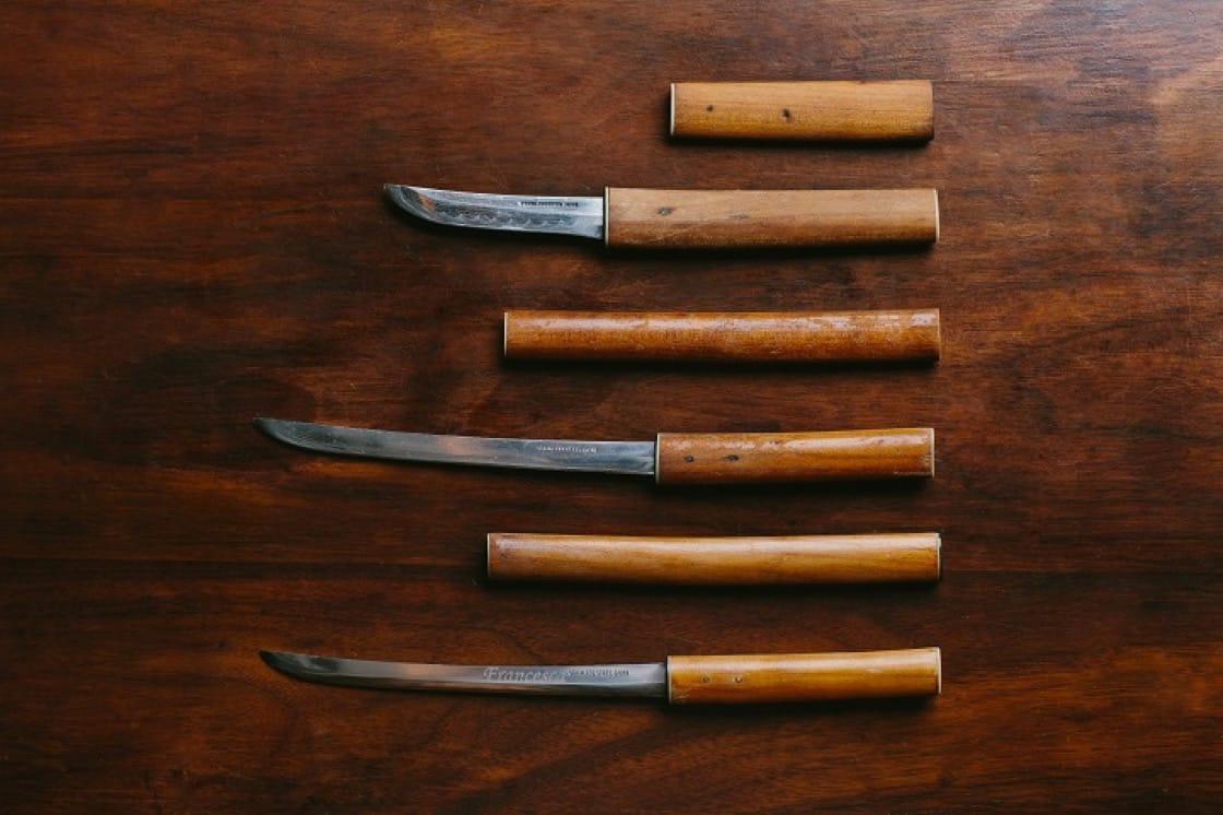 日本有武士刀文化,像餐刀大小的日本武士刀,鋒利無比。(圖片提供:Buenos Aires Polo Club)